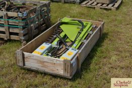 2x Ziegler hydraulic side knives for Claas combine