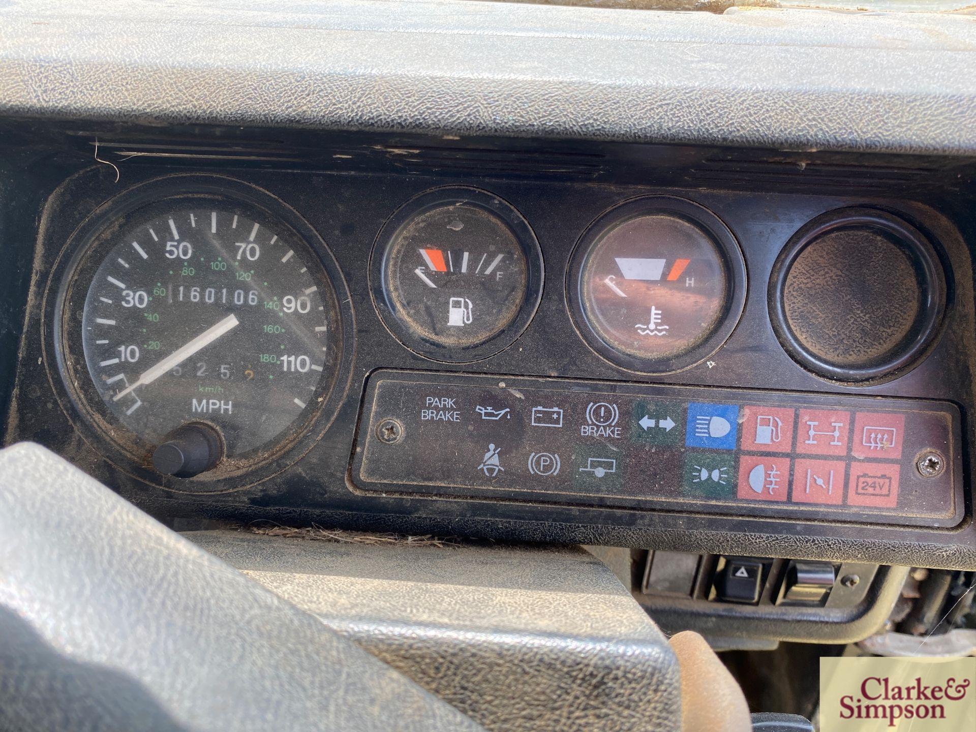 Land Rover Defender 110 single cab pick-up. Registration H317 OHK. Date of first registration 08/ - Image 38 of 56
