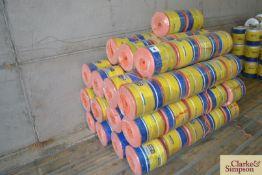 74x spools of New Holland Big Spool Type 72 big ba