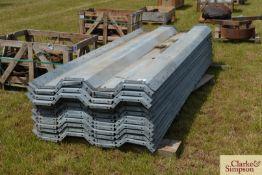 Quantity of grain walling. M