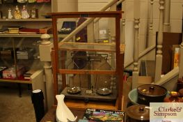 A cased set of chemist scales by Griffin & George