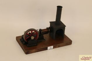A small 1920's Bing Hot Air engine