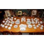"""A Spode """"Provence"""" partdinner, tea and coffee service,comprising various sized plates, soup bowls,"""