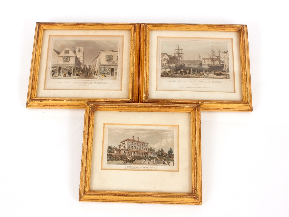 """A collection of Ipswich prints,to include after Fred Russell, """"The Ancient House"""", three small - Image 2 of 8"""