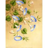 Thakur Ganga Singh Indian 1895-1970, seven botanical studies, signed watercolours and dated 1944/45,
