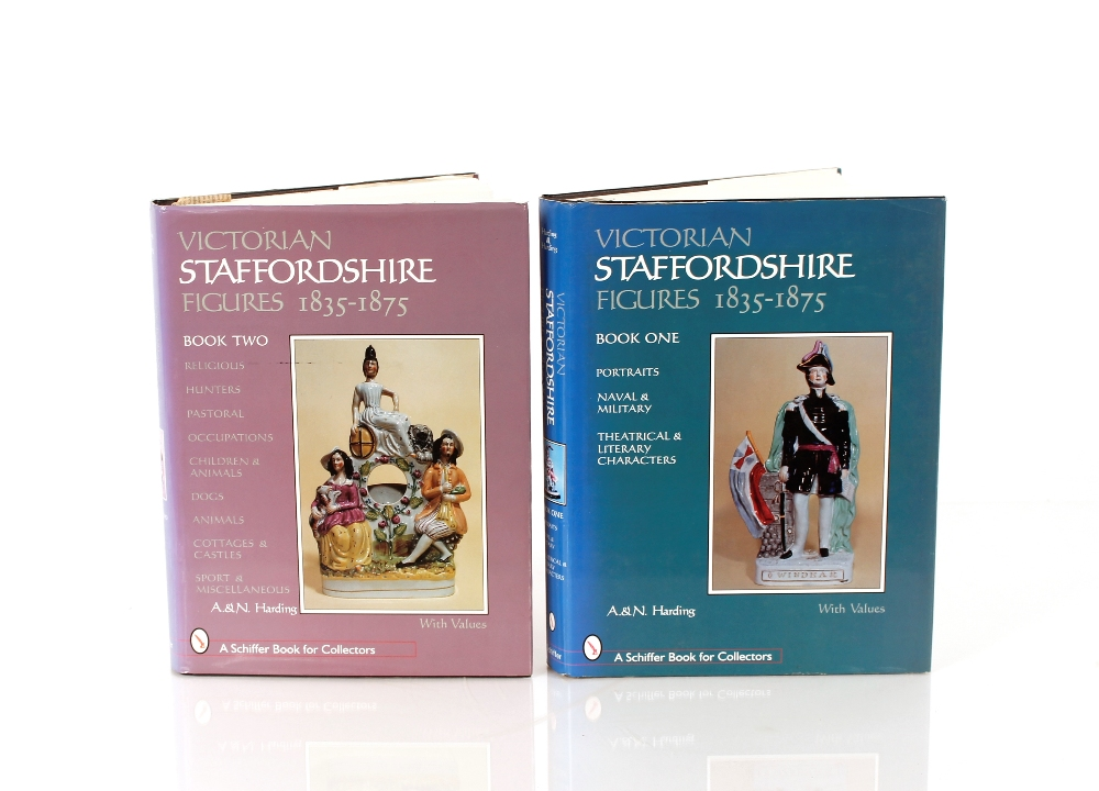 Two Staffordshire pottery referencebooks