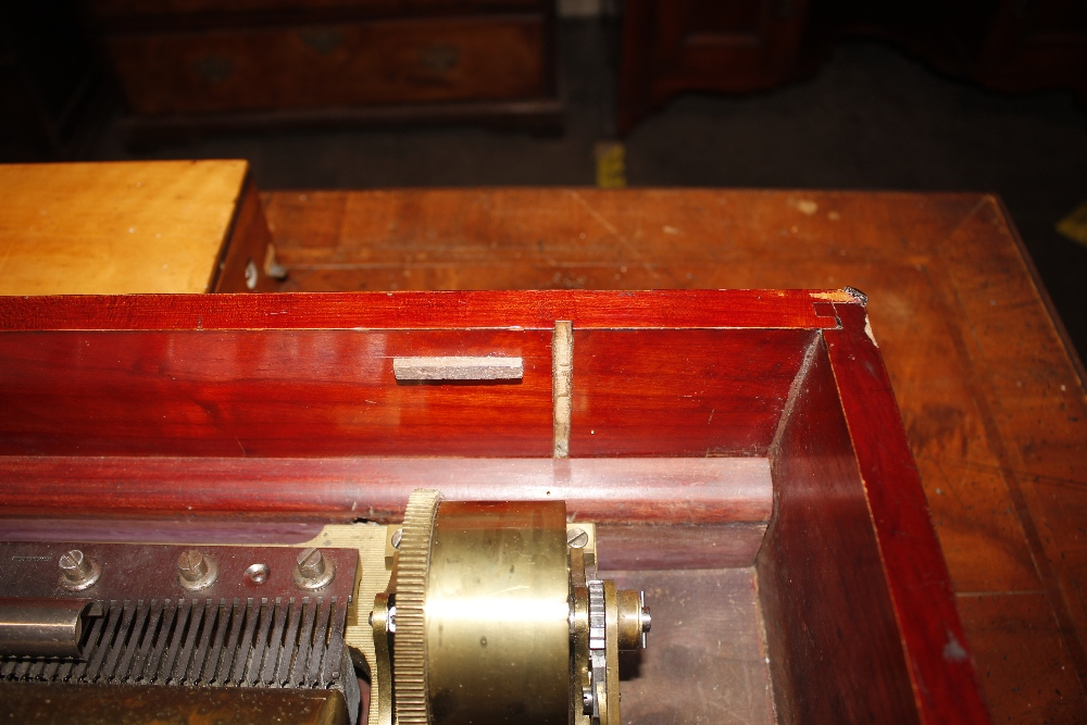 A Nichol Freres 12 air mandoline Expression music box, Damme 3115 Piece No.46008, in rosewood and - Image 14 of 14