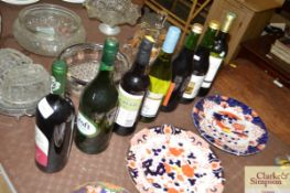A quantity of various wine and sherry