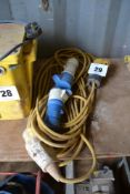 32A 110v extension lead.