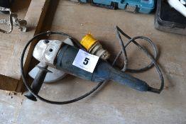 Bosch GWS 22-230H 110v 9in angle grinder.