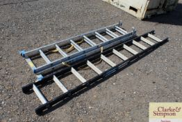 Zarges combination step ladder and Zarges ladder.
