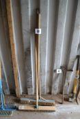 2x brooms.