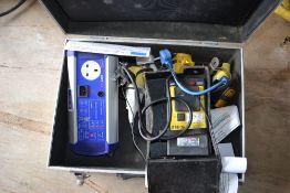 PAT testing equipment.