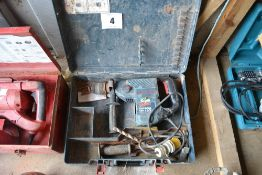 Bosch GBH 4DFE Multidrill 110v SDS drill.