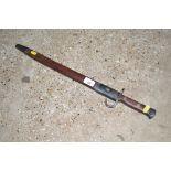 A WW1 1907 pattern hook, Quillon Bayonet (good cop