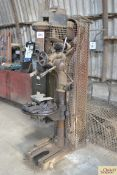 Denbigh pillar drill. To be sold in situ and removed at purchaser's expense.