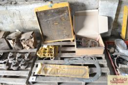 A quantity of Caterpillar D2 spares. To include gaskets, radiator etc.NO VAT
