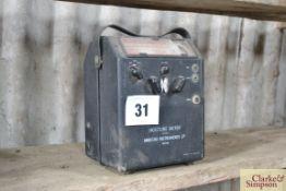 Marconi moisture meter.