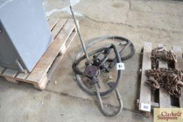 Barrel pump and diesel pump.