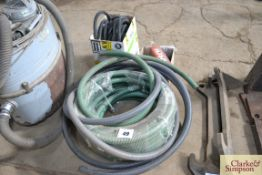 Quantity of drill and other hose.