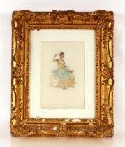 "Felicien Rops 1833-1898, ""Vinum Vita!"", coloured e"