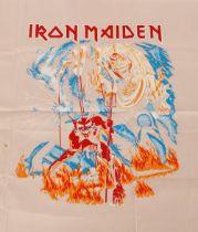 An Iron Maiden screen print