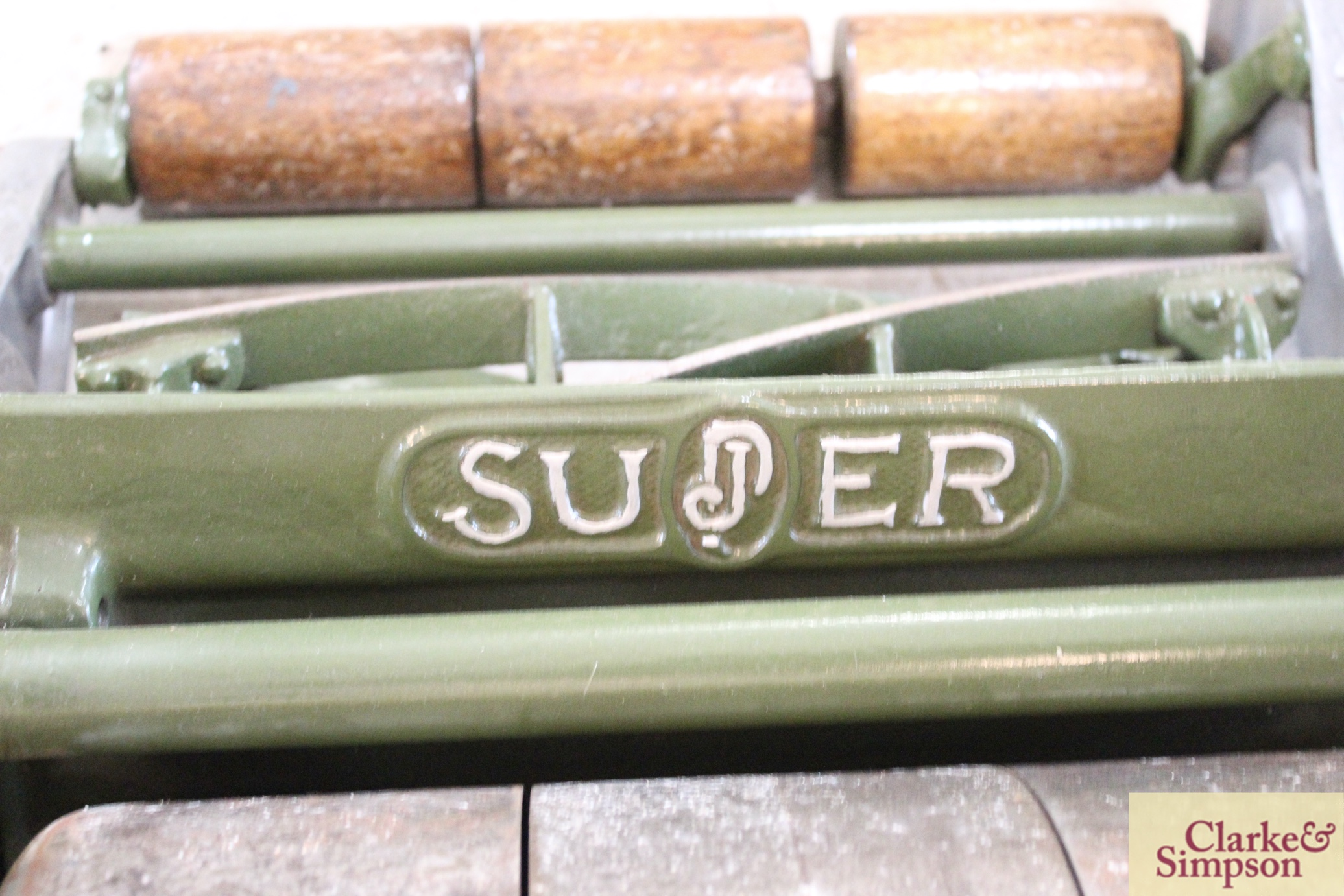 """A Jerome & Pearson 12"""" Super cylinder mower - Image 10 of 13"""