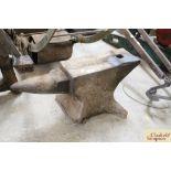 An anvil