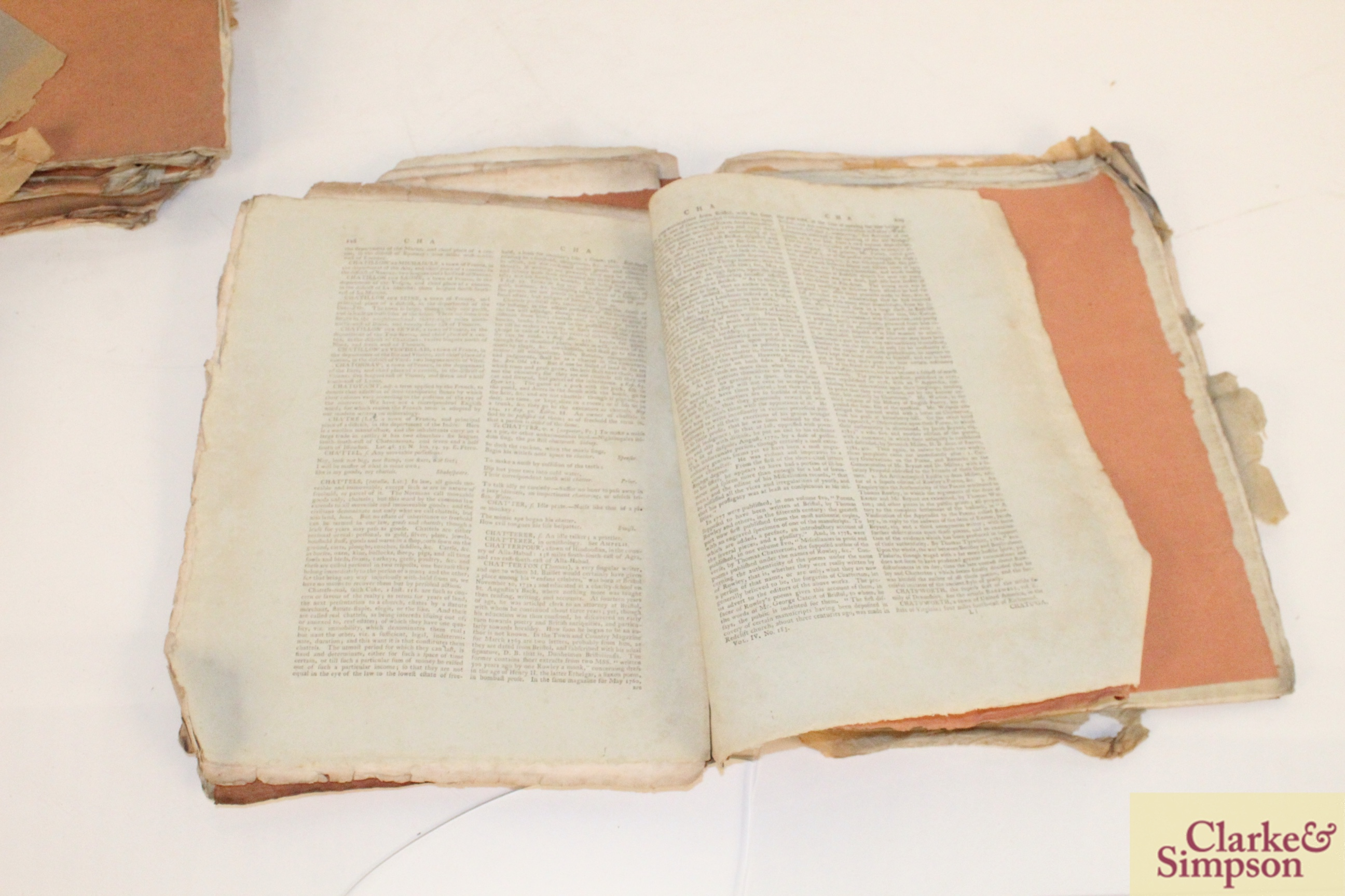 A collection of 18th / 19th Century pamphlets with - Image 2 of 4