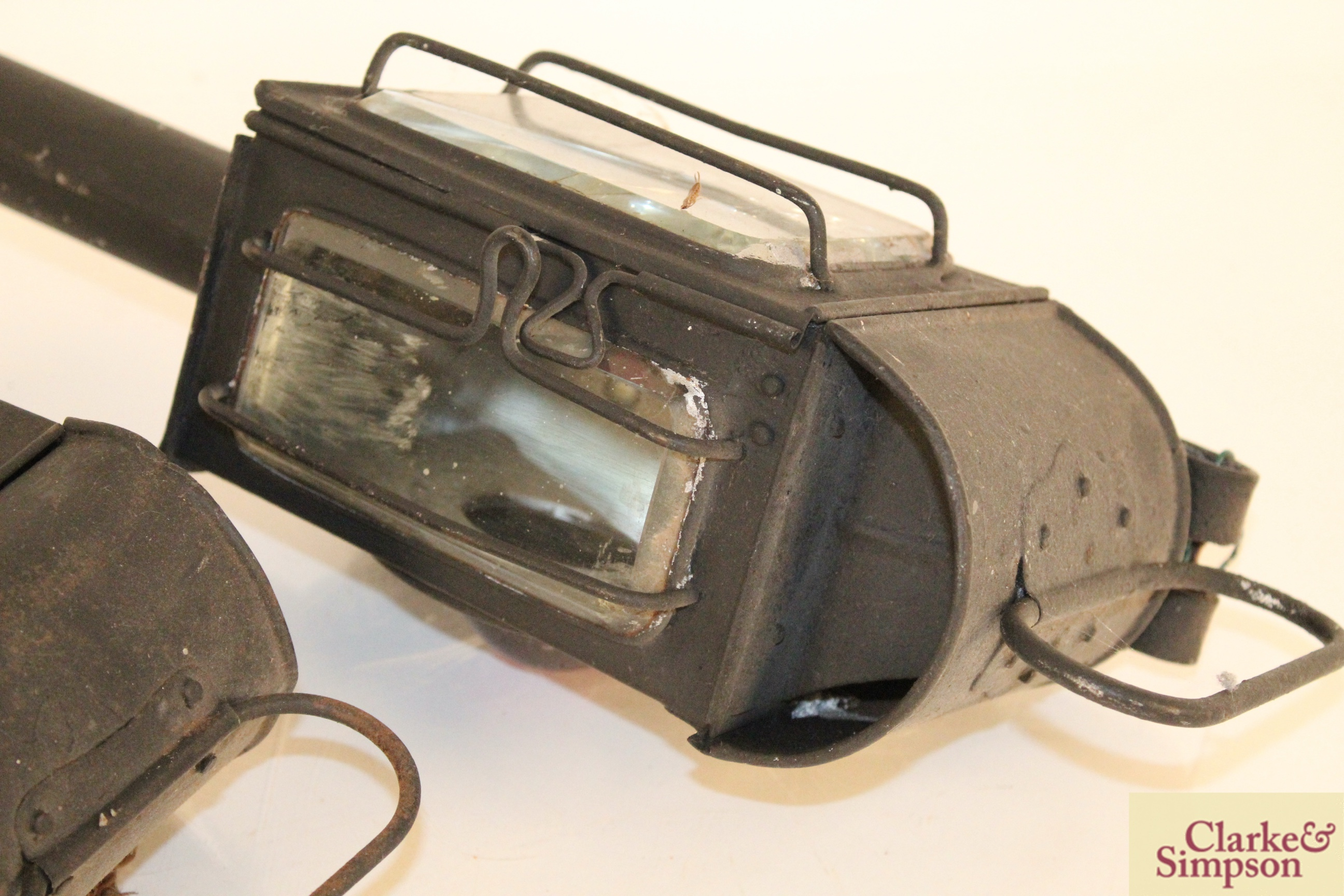 Two carriage lamps - Image 8 of 8