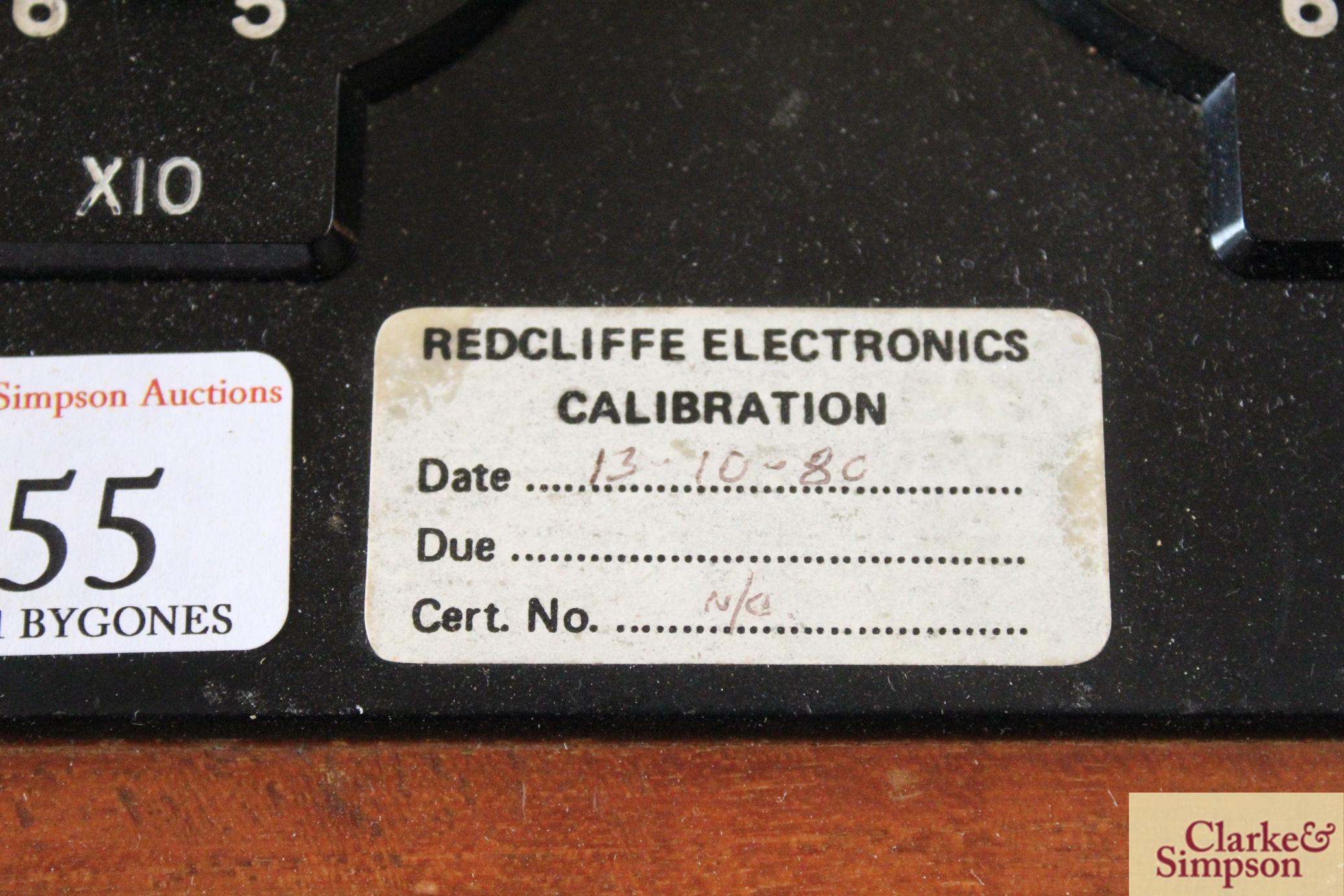 A Cambridge Decade Bridge No.L-310031 electrical tester - Image 5 of 6