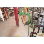 A Bamlett of Thirsk sharpening stand