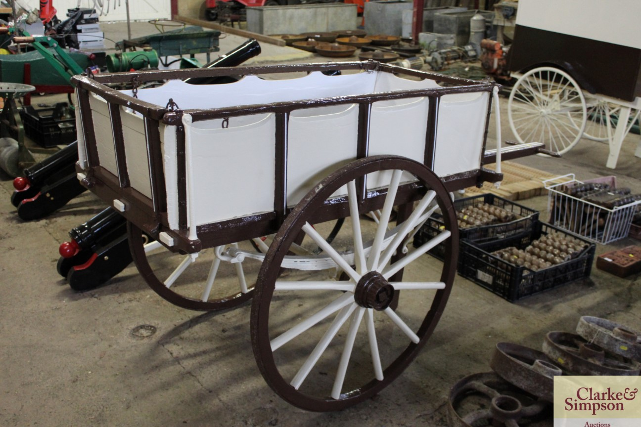 A builders hand cart - Image 2 of 12