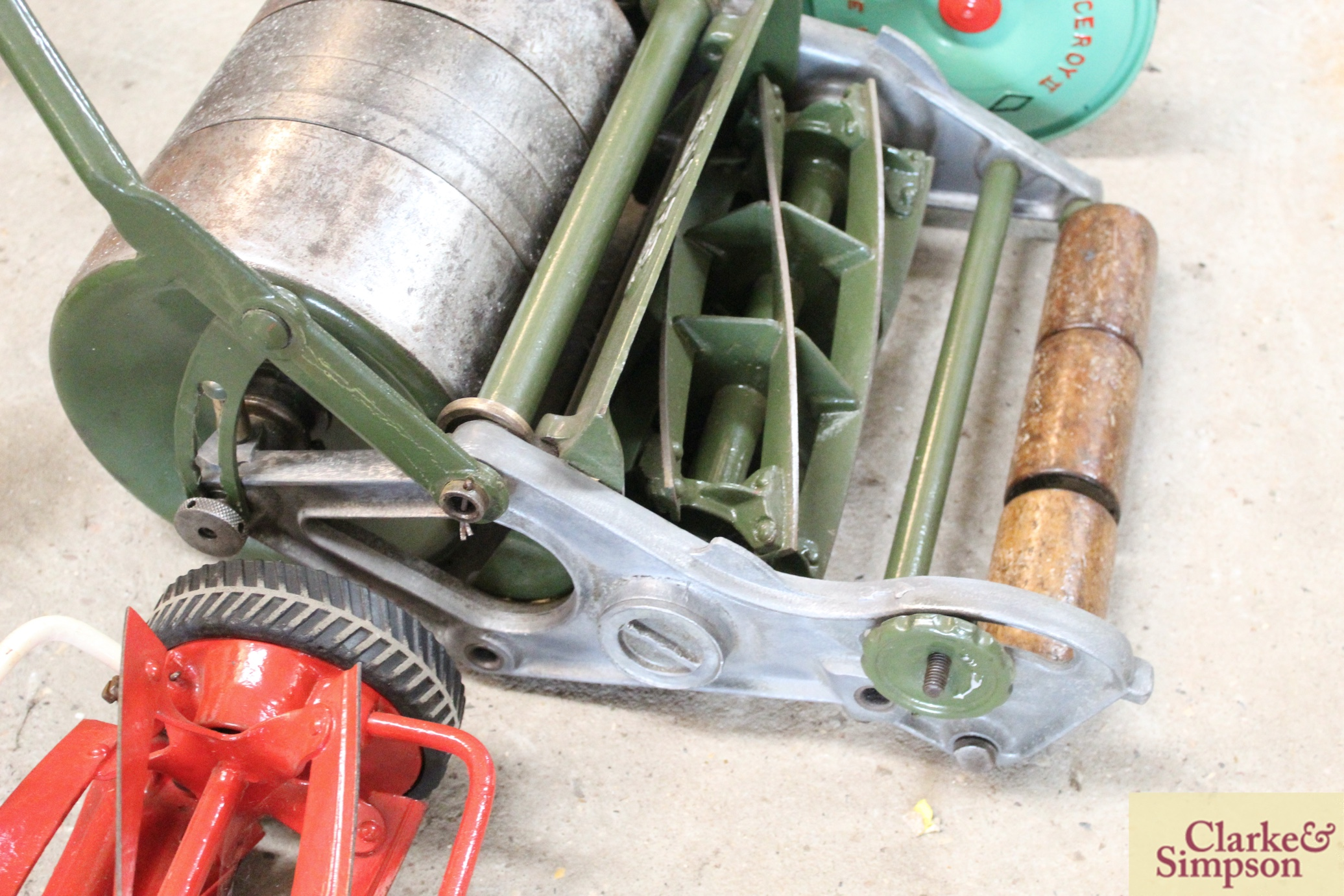 """A Jerome & Pearson 12"""" Super cylinder mower - Image 11 of 13"""