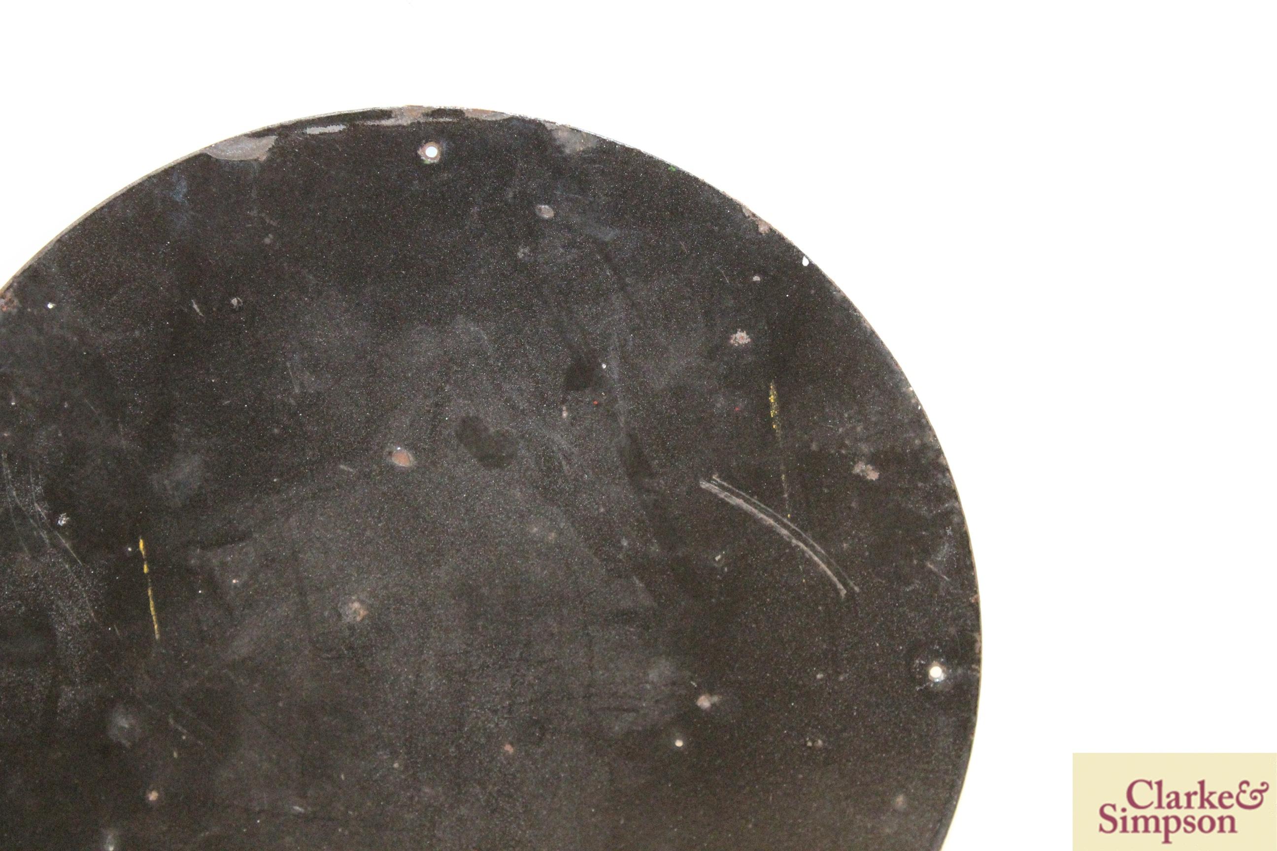 "A circular enamel sign for ""Royal Snowdrift Oil"", - Image 8 of 10"