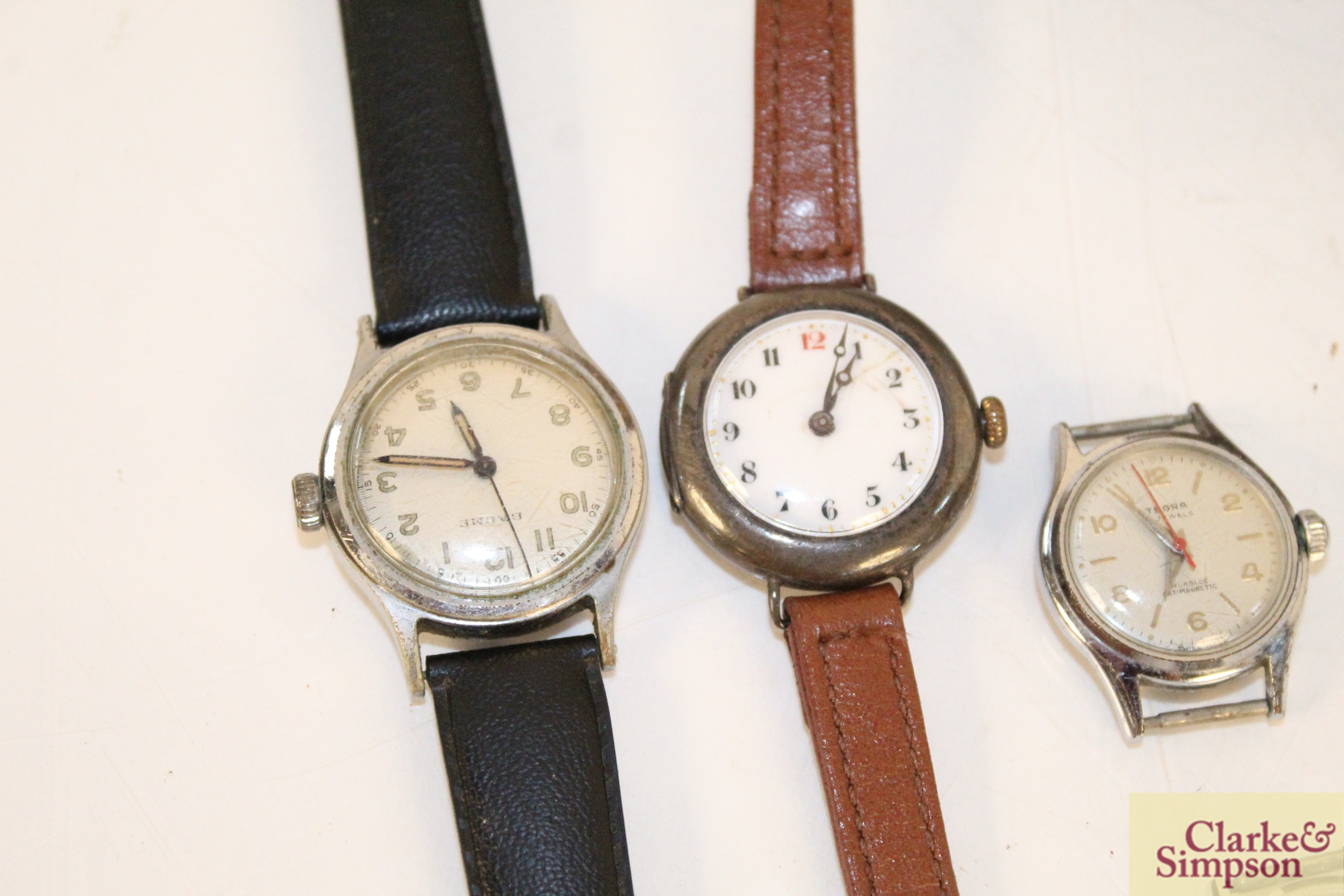 Four various vintage ladies wrist watches, an eight day - Image 3 of 6