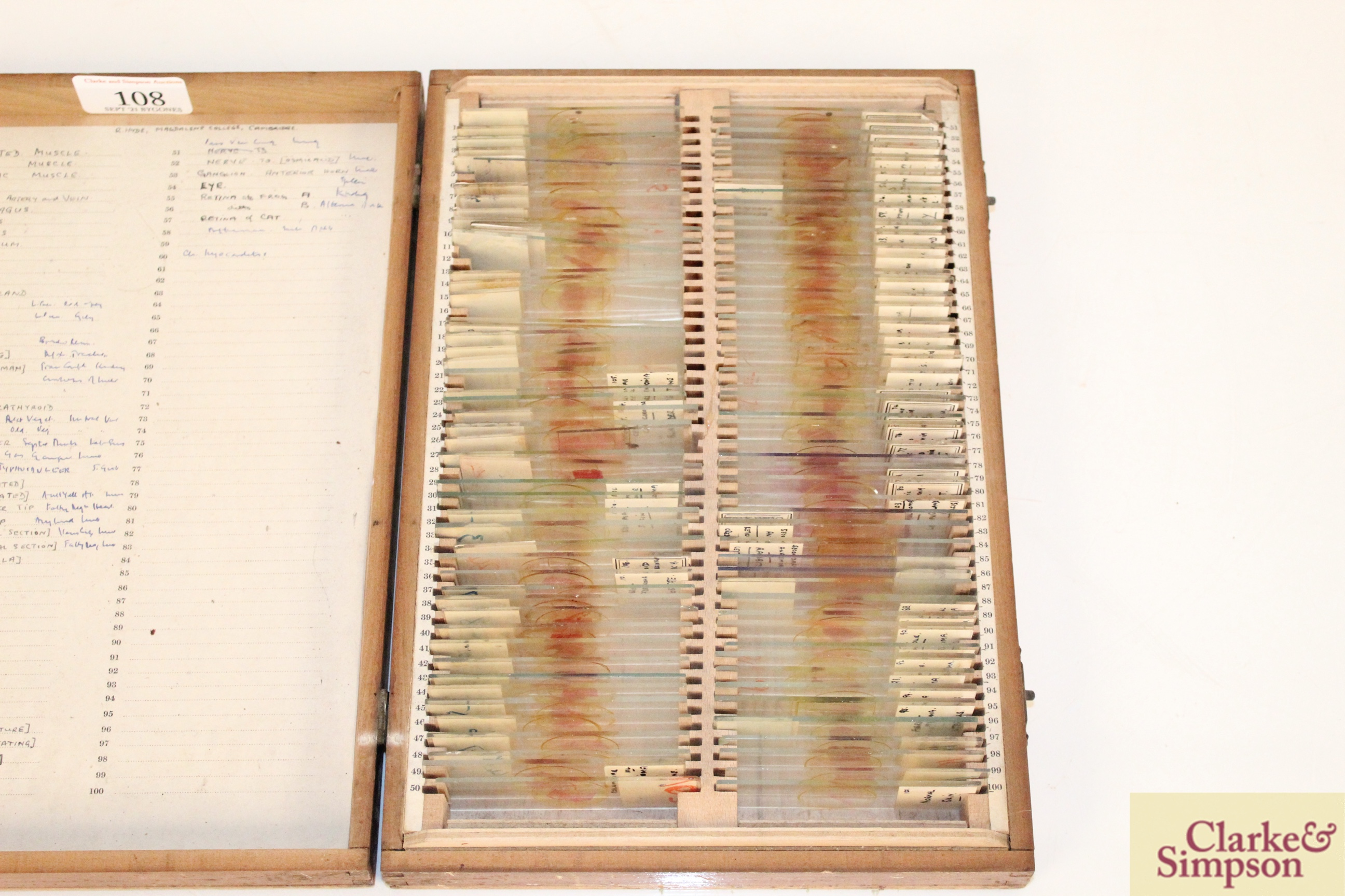 Three boxes of medical slides - Image 4 of 14
