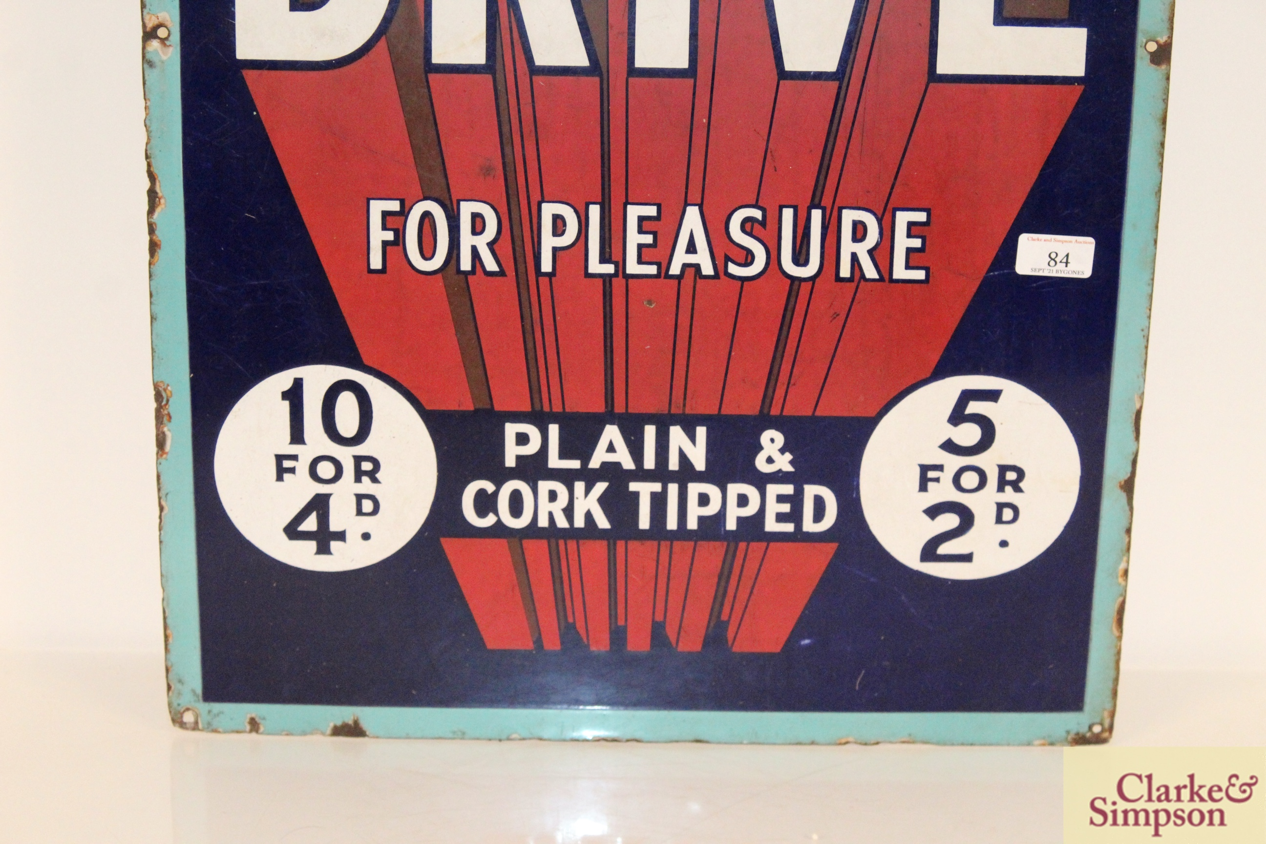 """A """"Park Drive For Pleasure"""" plain and cork tipped - Image 4 of 8"""
