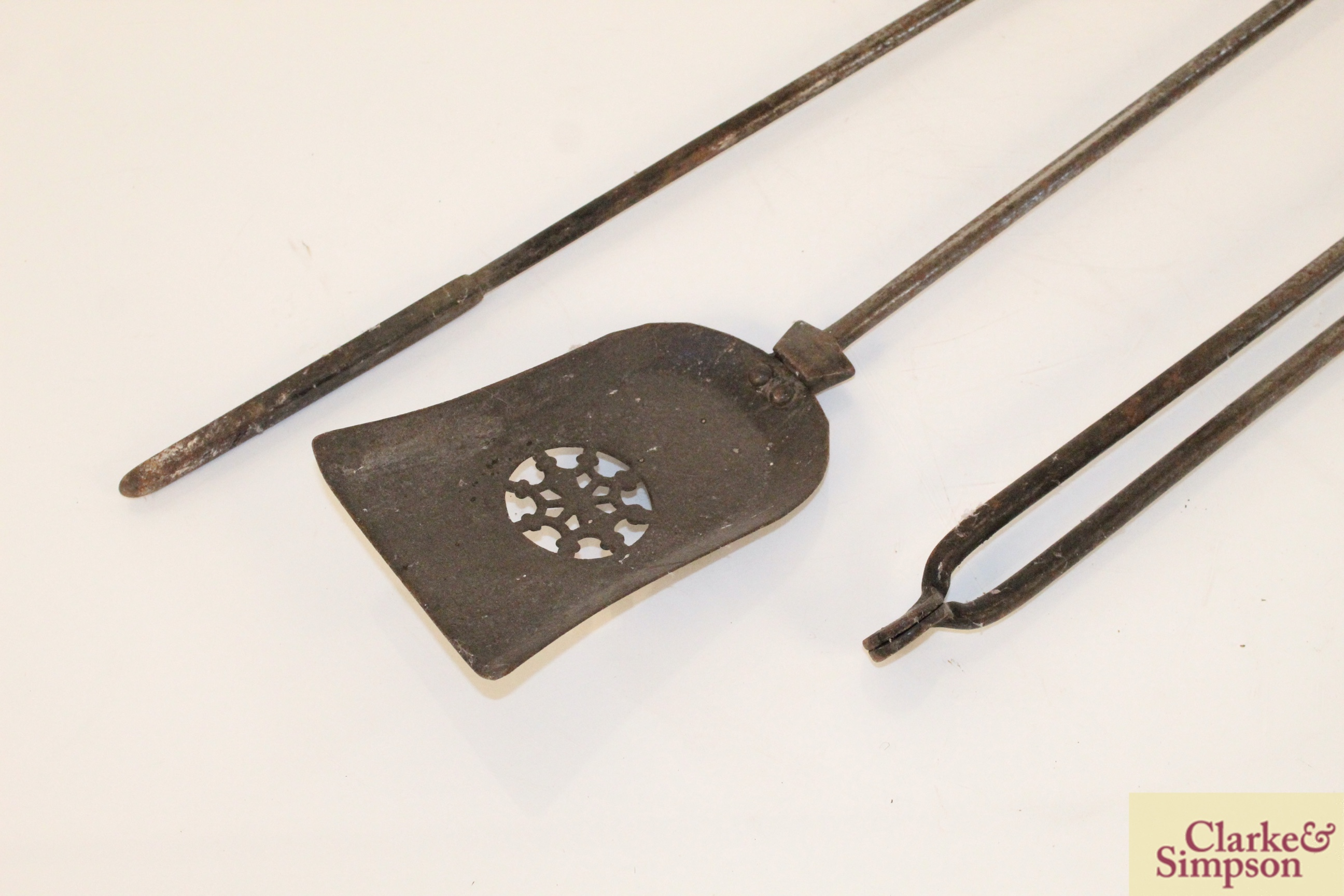 A set of three 19th Century fire implements - Image 2 of 4