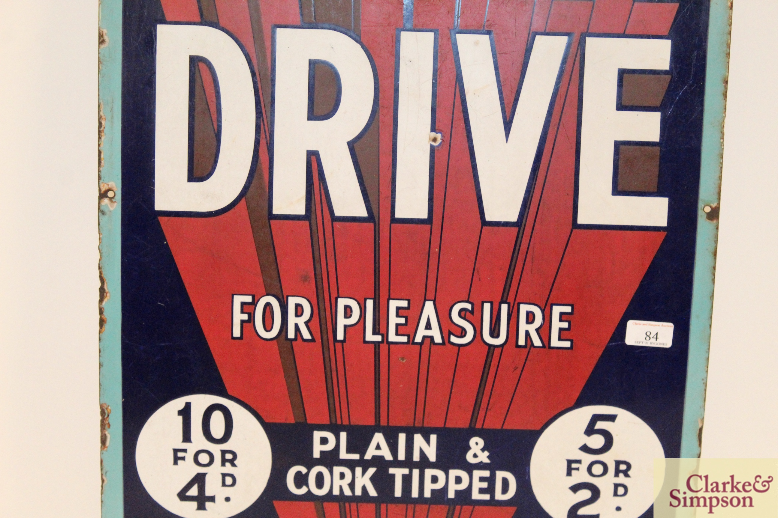 """A """"Park Drive For Pleasure"""" plain and cork tipped - Image 3 of 8"""