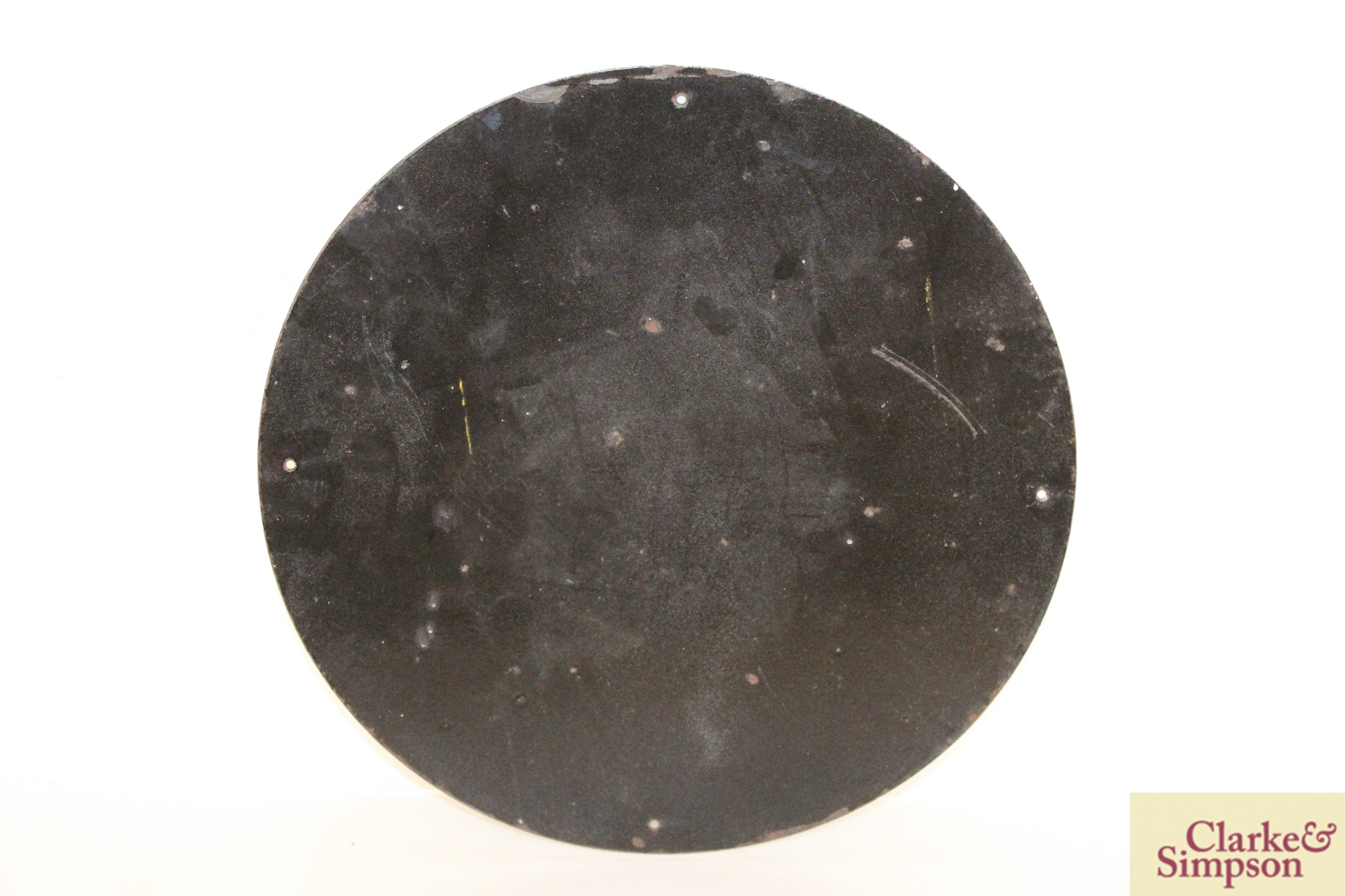 "A circular enamel sign for ""Royal Snowdrift Oil"", - Image 6 of 10"