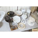 A quantity of various kitchenalia including a quic