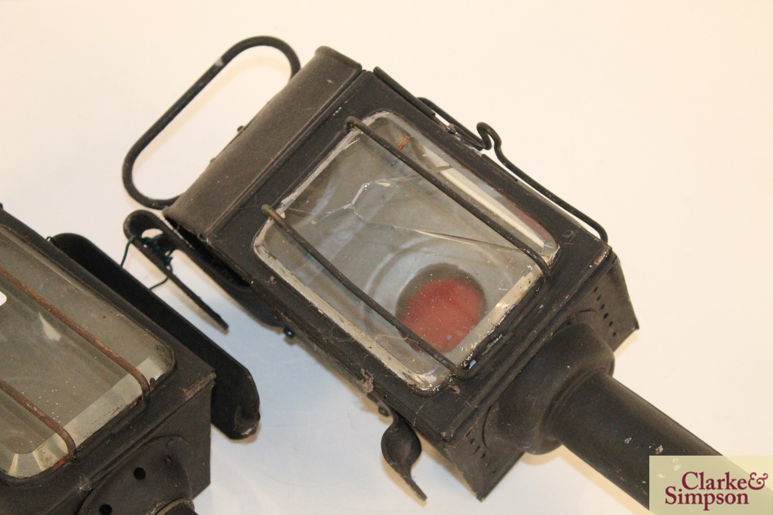 Two carriage lamps - Image 4 of 8