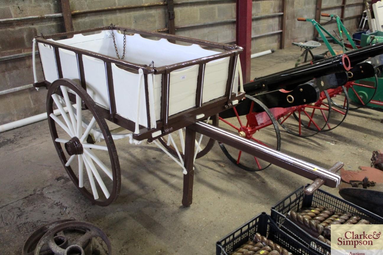 A builders hand cart