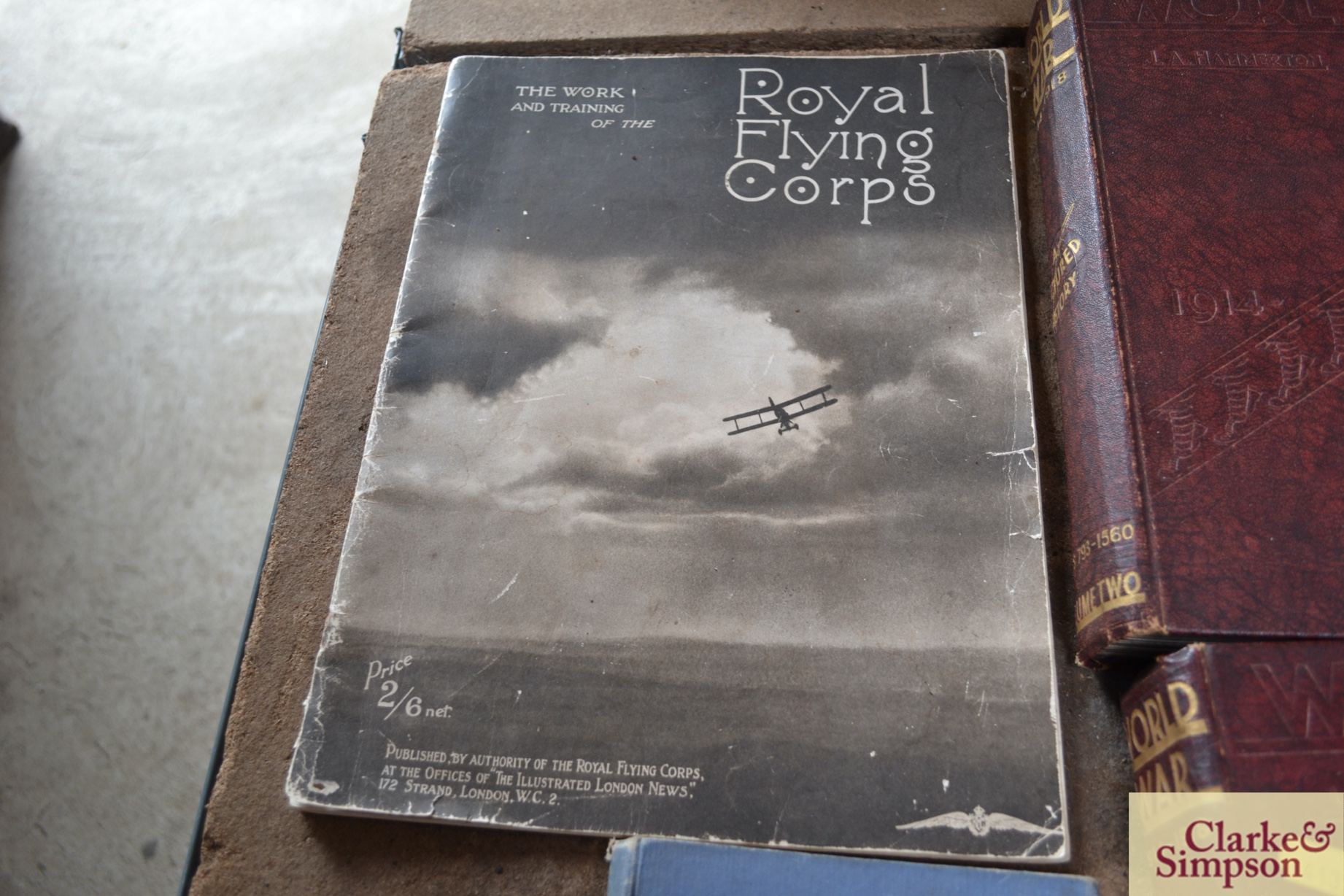 Two volumes of World War 1914-1918, The Royal Flyi - Image 5 of 5