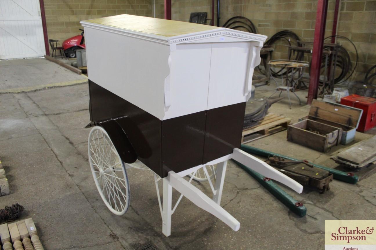A bakers hand cart