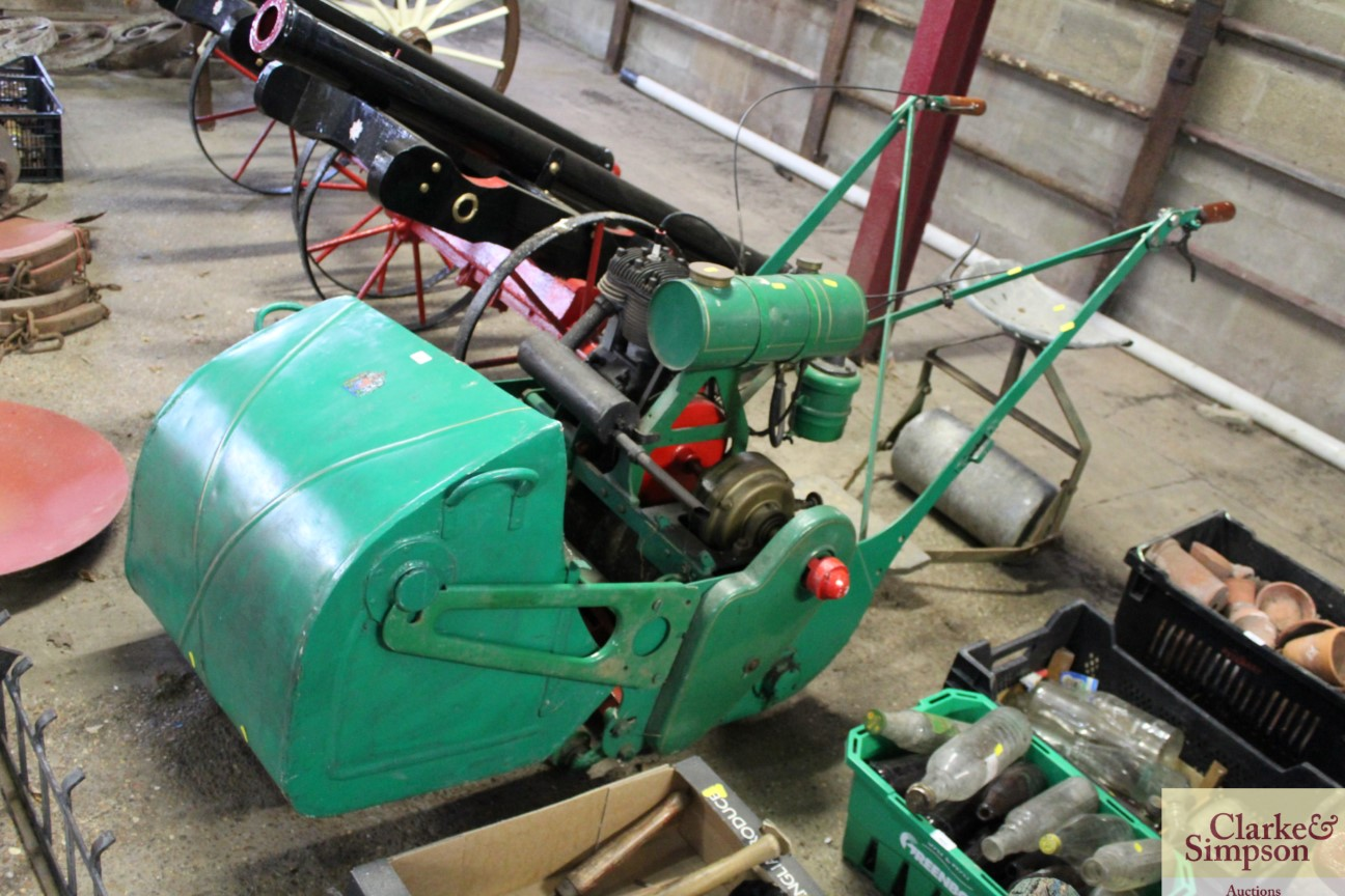 A Ransomes cylinder ride-on mower - Image 2 of 12
