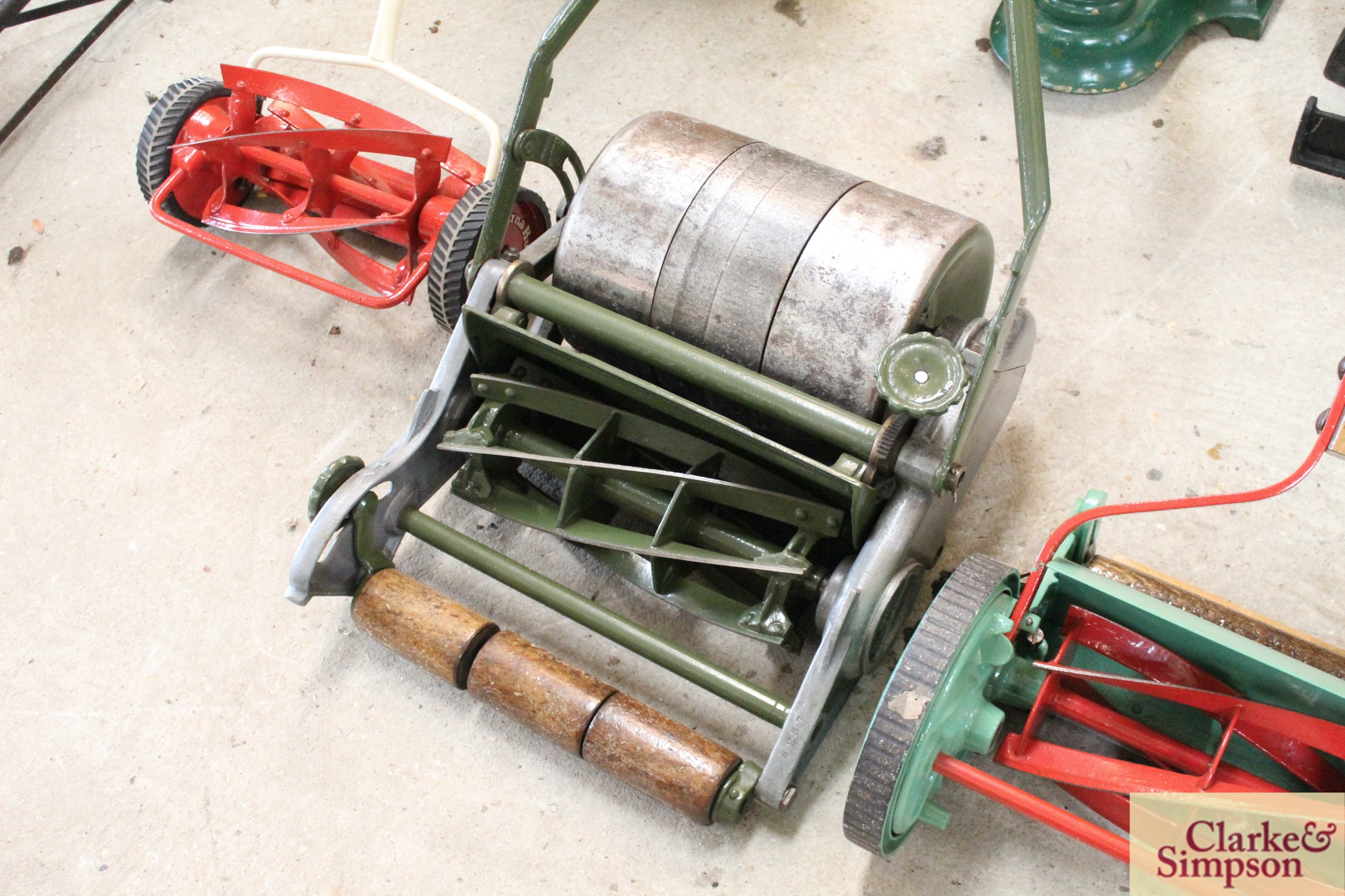 """A Jerome & Pearson 12"""" Super cylinder mower - Image 3 of 13"""