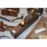 A Taylor Buck 247 wooden plane