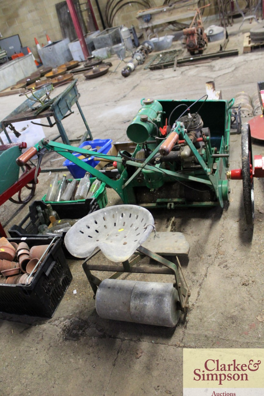 A Ransomes cylinder ride-on mower - Image 4 of 12